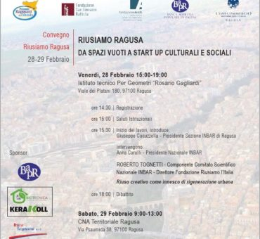 Riusiamo Ragusa - locandina